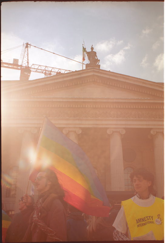 Gay Pride March at GPO
