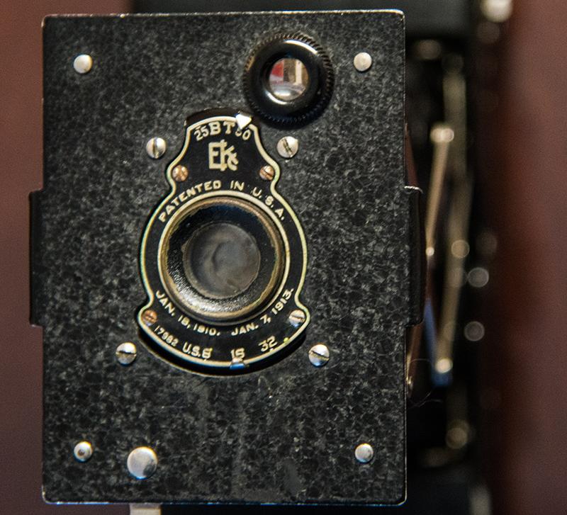 Front of VPK (Vest Pocket Kodak).