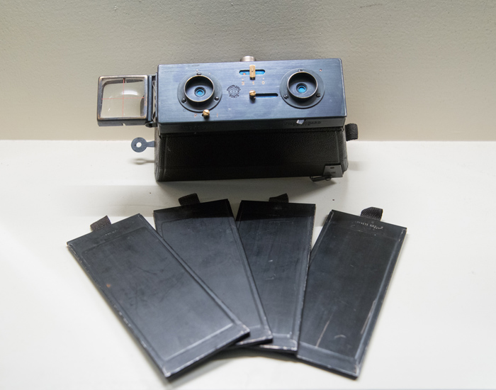 The magazine holders originally sold in packs of 12 that came with the camera.