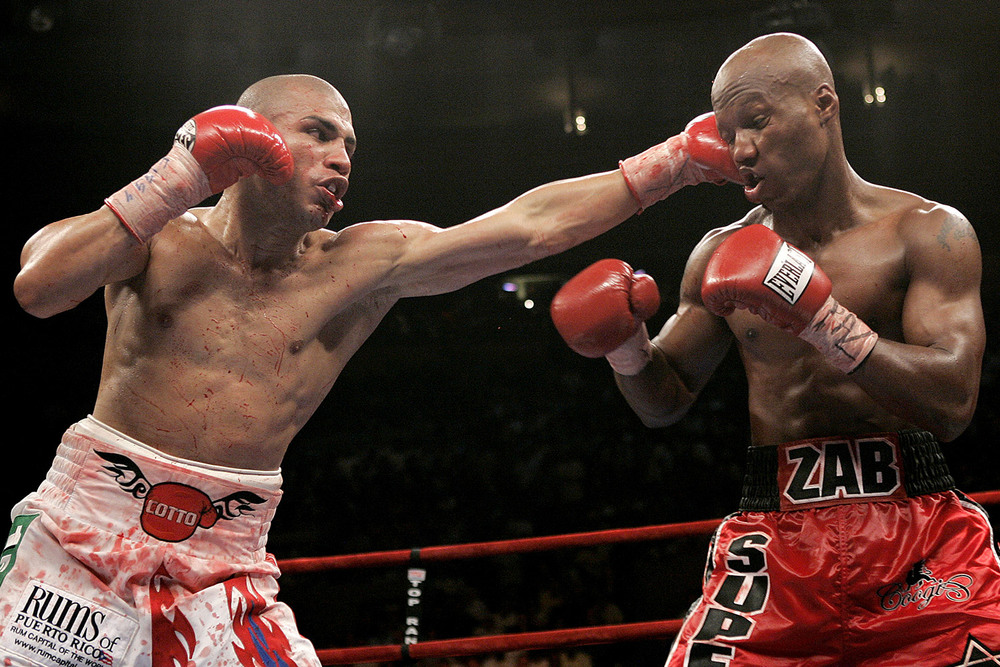 Cotto defeated Zab Judah at MSG on June 9, 2007 Photo: Will Hart