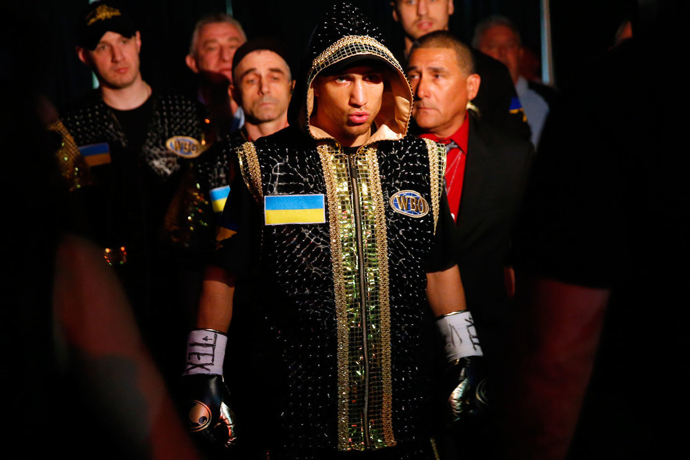 Vasyl Lomachenko Photo: Will Hart