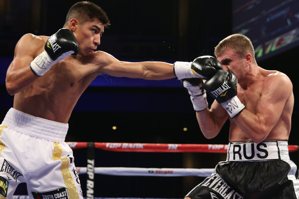 Jessie Vargas - Photo: Ed Mulholland
