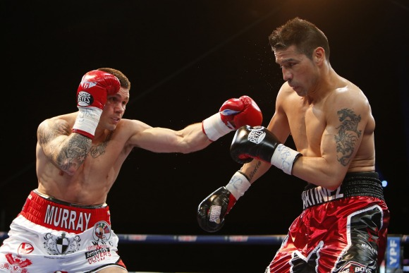 Martin Murray (Left) takes on Gennady Golovkin Saturday night, live from Monte Carlo. Photo: Will Hart