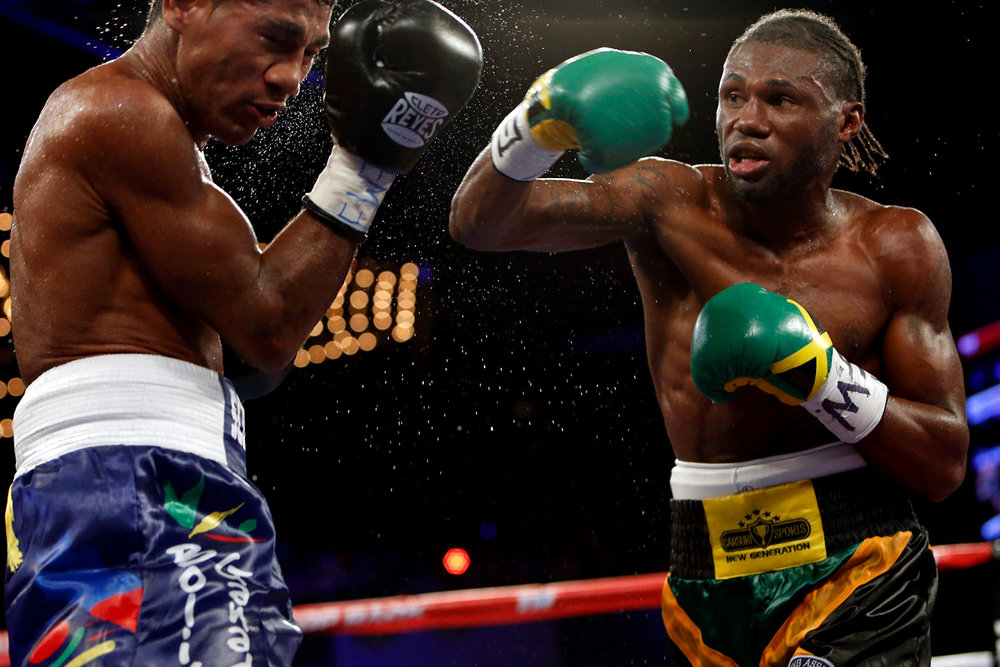 NICHOLAS WALTERS, RIGHT, FACES THE DAUNTING TASK OF FIGHTING VASYL LOMACHENKO.
