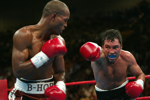 Hopkins vs. Oscar De La Hoya -- Sept. 18, 2004
