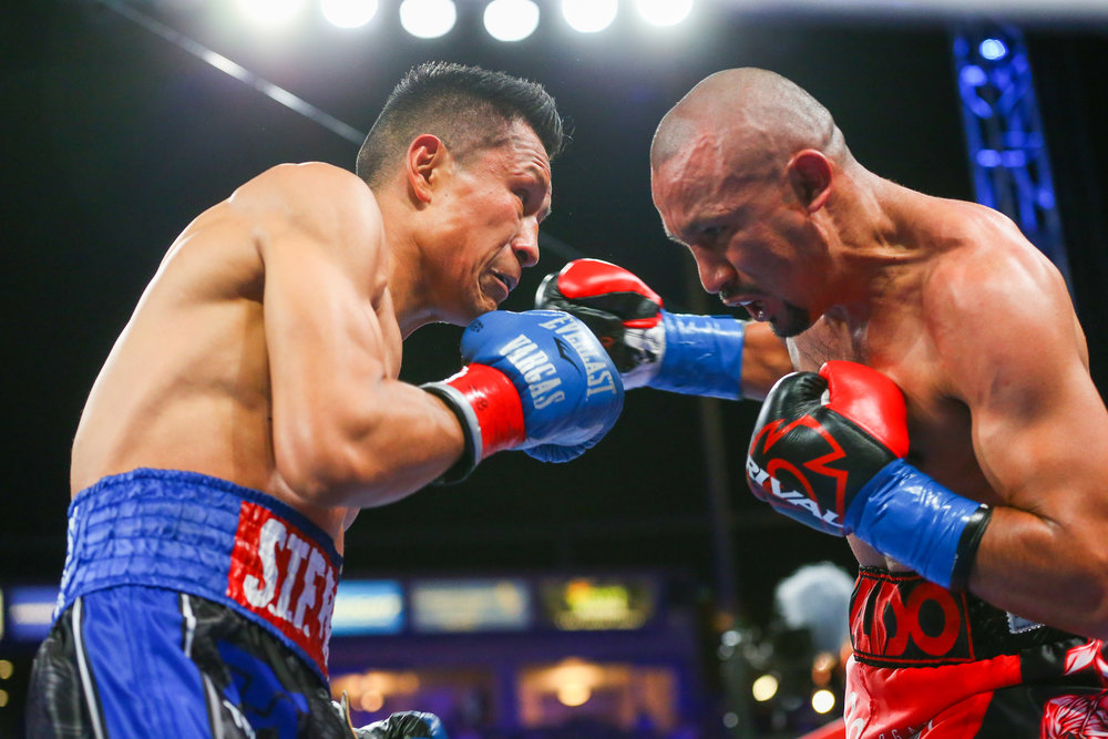 Francisco Vargas (left) and Orlando Salido are two of the world's top 130-pounders.
