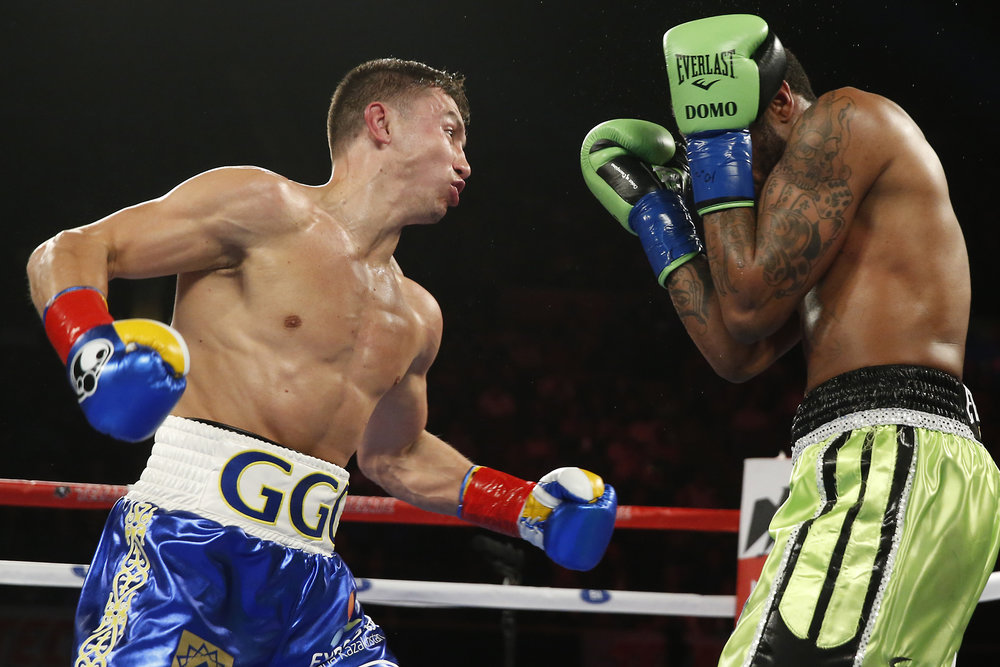 "Gennady ""GGG"" Golovkin, a perfect 36-0, has piled up 23 consecutive knockouts."