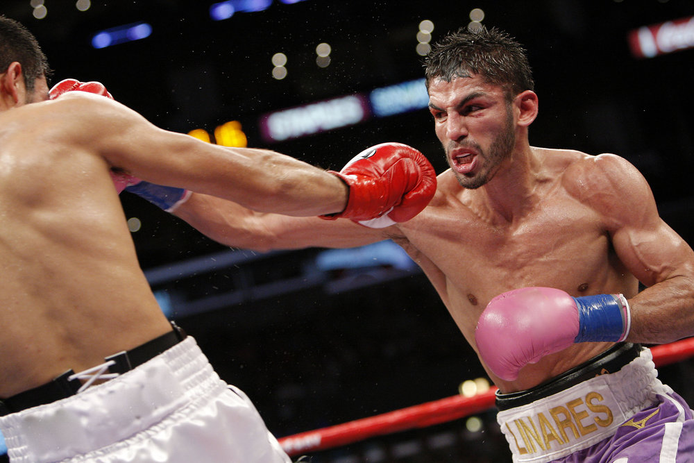 Jorge Linares will face Luke Campbell Sept. 23 in L.A. (Photo: Will Hart)
