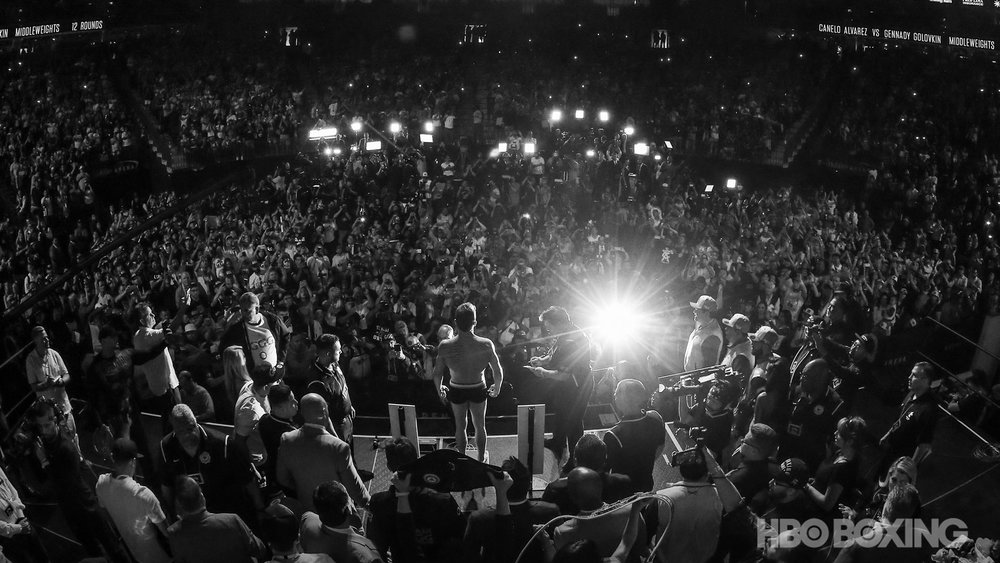 canelo ggg 2 crowd bw.jpg