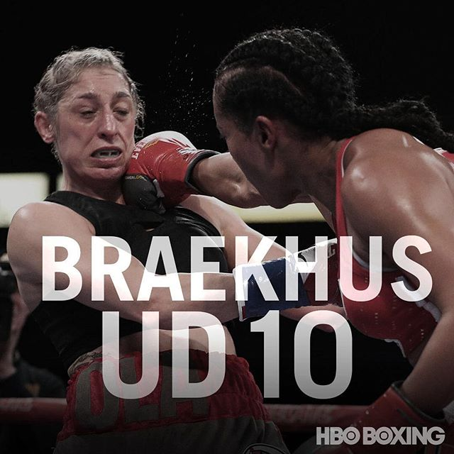 Champions and favorites dominate #Undisputed fight night: @claressashields slugged her way to a UD victory over Hermans; @galloestradaoficial put on a clinic before Mendez threw in the towel; and @ceciliabraekhus thoroughly broke down Magdziak-Lopes to retain her welterweight belts. 📸: @muls96