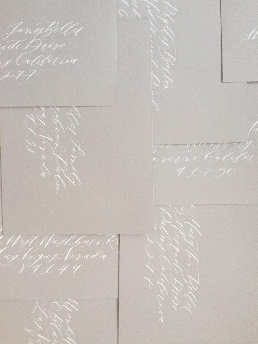calligraphy -