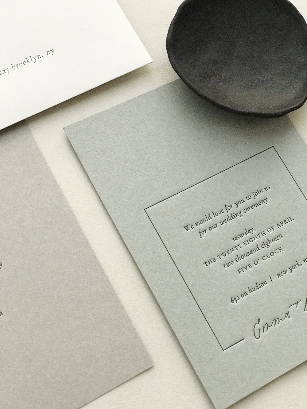 Custom Invitation Suite: Emma + Ben