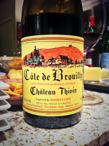 Chateau Thivin Dave Lofstrom