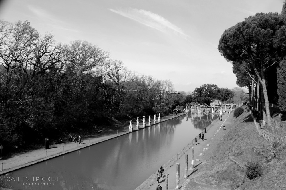 ^ This was probably the most complete and beautiful part of all of Hadrian's Villa (below as well).
