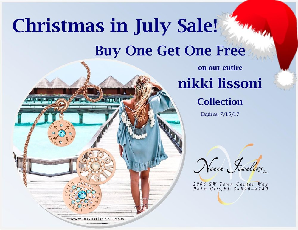 Our entire Inventory of nikki lissoni charms, bracelets, necklaces, earrings are Buy One Get One Free this week only!