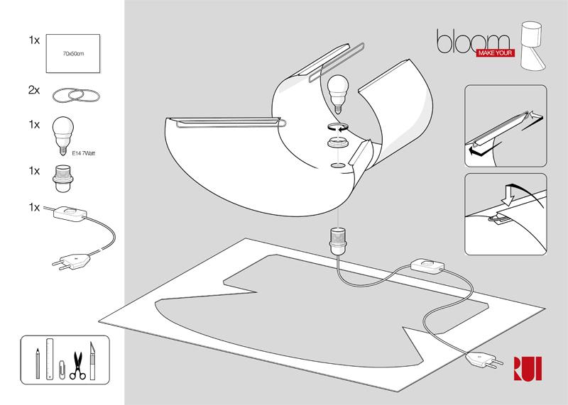 Rui Tomás Design Candeeiro Bloom