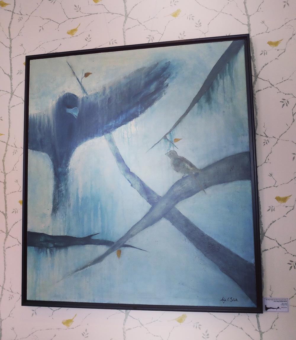 """Selv med vinger som dine vil jeg fly på min måte"" Anja Cecilie Solvik"