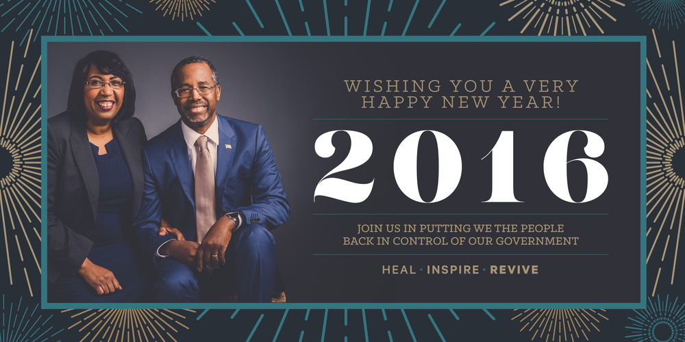 New Years Graphic for Carson America