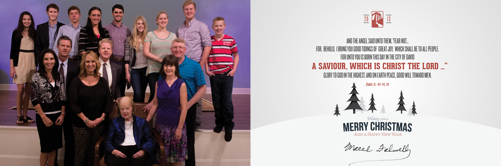 2013 Falwell Christmas Card - Inside