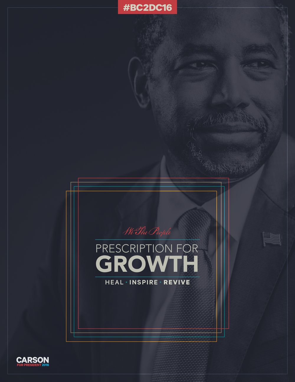 Tax Plan policy cover for Carson 2016