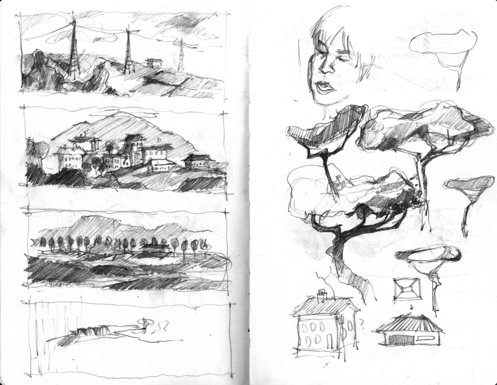 Train Sketches