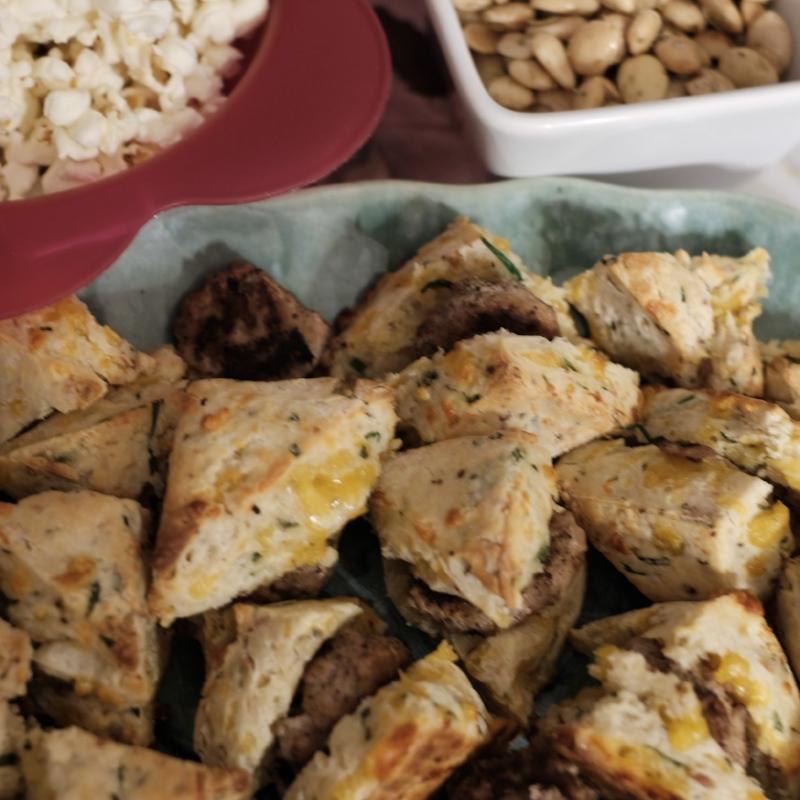 Turkey slider appetizers