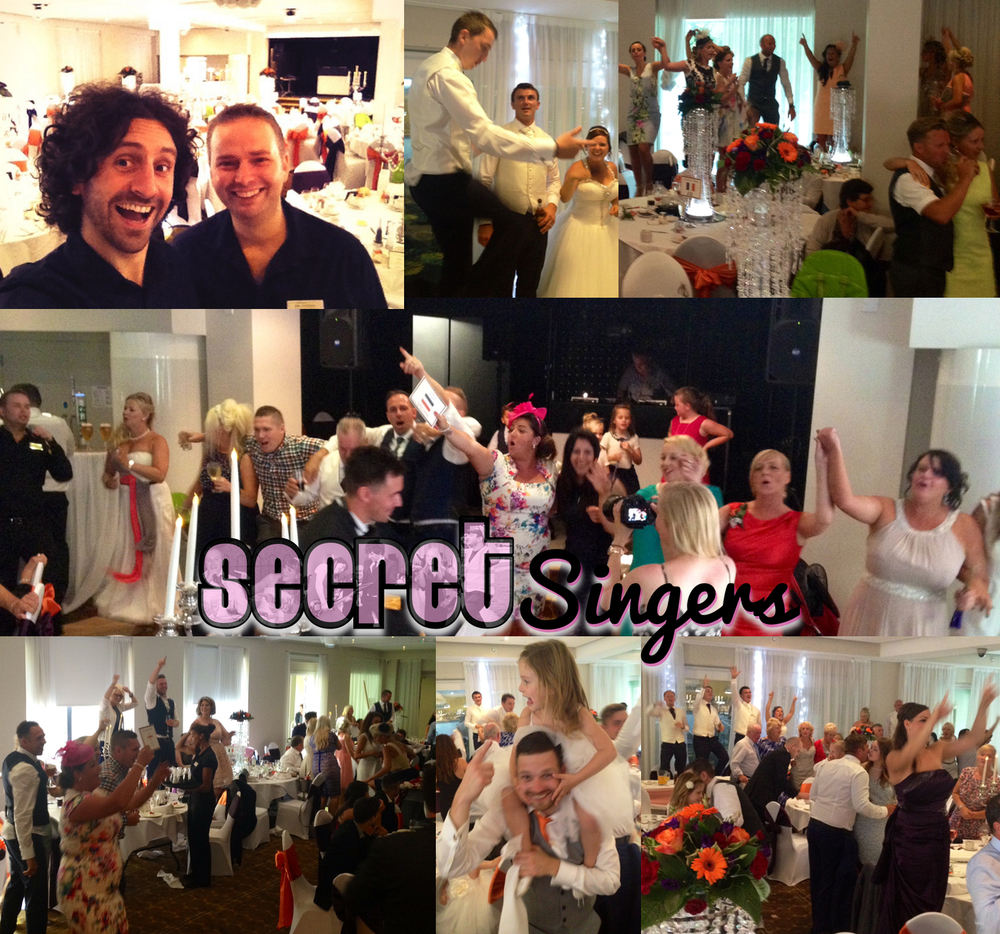 Secret Singers - singing waiters