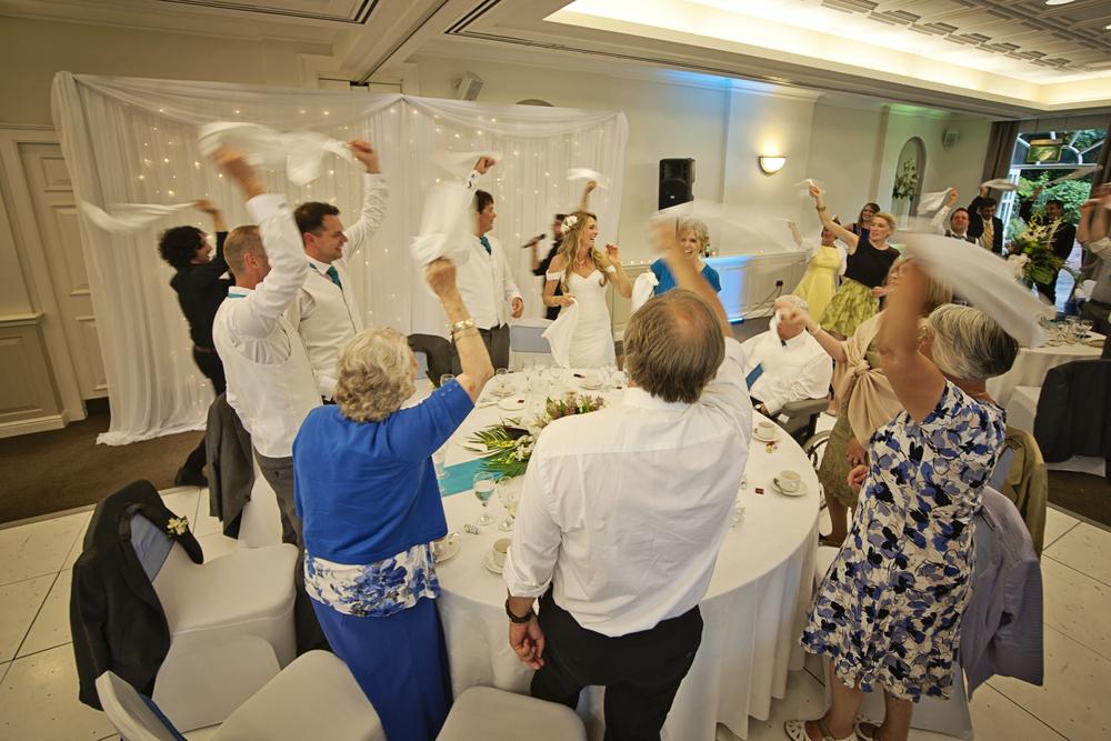 Singing Waiters Secret Singers