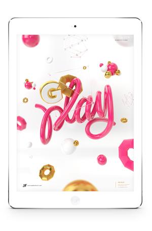 Go Play iPad wallpaper