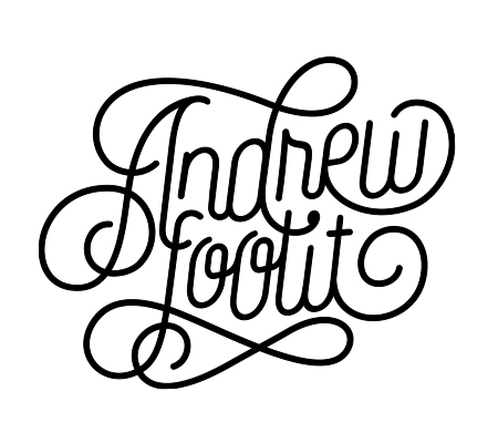 Andrew Footit | Design & Typography & Type Foundry