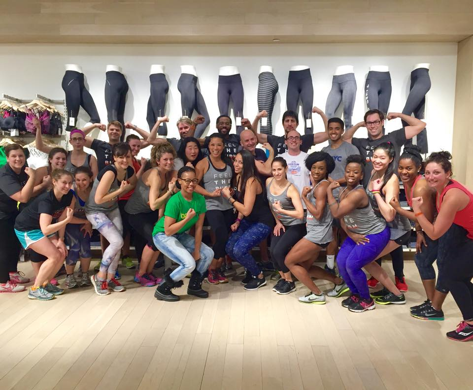 Way to HIIT IT! at Athleta!