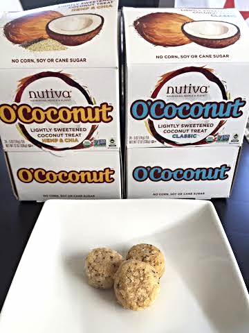 Delicious and healthy O'Coconut snacks!
