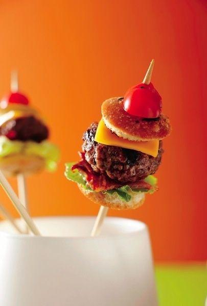 Baby Burger Bites