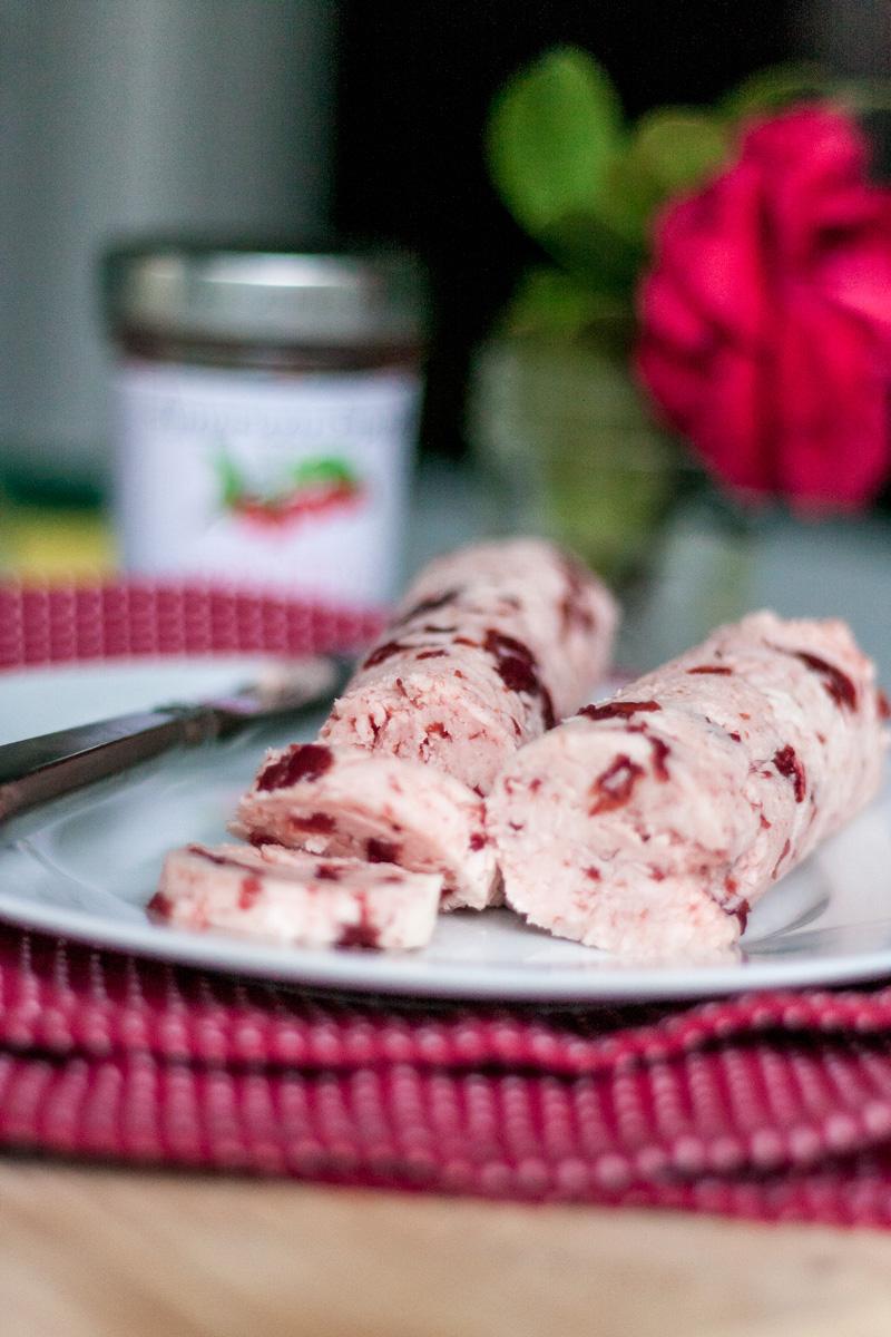 Recipe: Sour Cherry Compound Butter | SavoryPantryBlog.com