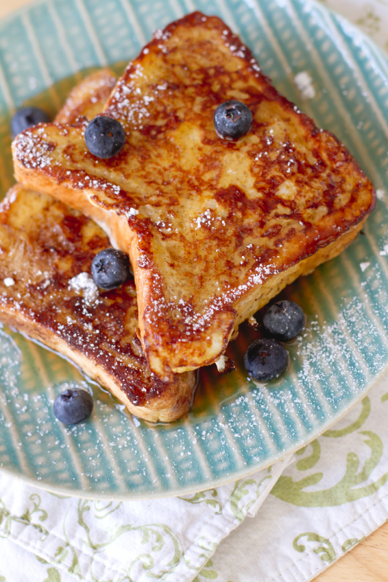 Fluffy French Toast Recipe — Dishmaps