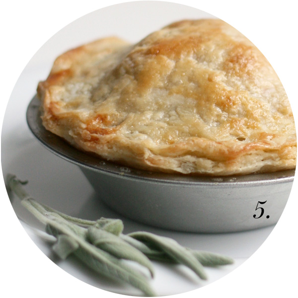For the Love of Pie Roundup | Chicken Pot Pie from Faux Martha | TheSavoryPantryBlog.com