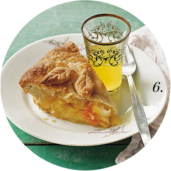 For the Love of Pie Roundup | Shaker Citrus Pie | TheSavoryPantryBlog.com