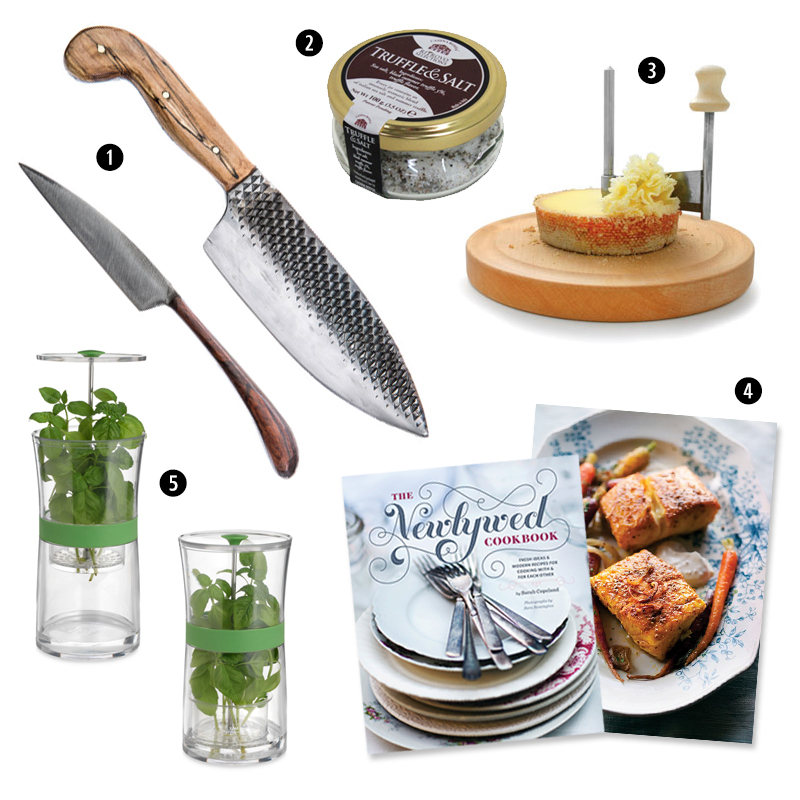 Gifts for the Expert Chef | The Newlywed Cookbook | SavoryPantryBlog.com