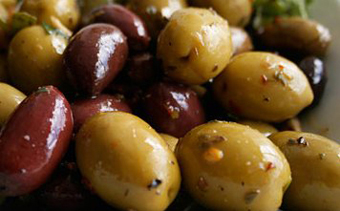 Roasted Olives | Mother's Day Lunch | SavoryPantryBlog.com