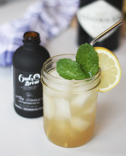 Sweet Tea Cocktail | Mother's Day Lunch | SavoryPantryBlog.com