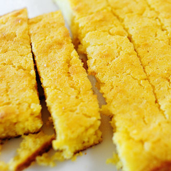 Skillet Cornbread | Mother's Day Lunch | SavoryPantryBlog.com