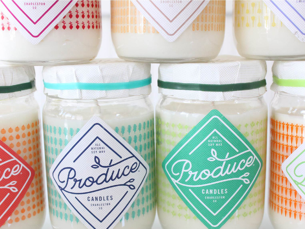 From the Maker's Mouth: Produce Candles | SavoryPantryBlog.com