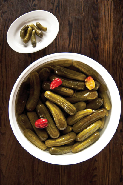 McClure's Pickles - Just throw them in a bowl and you're DONE!