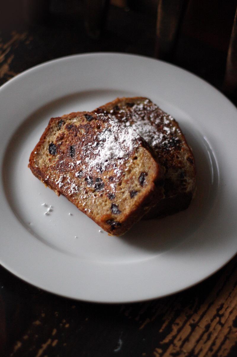 Soberdough Cinnful Raisin French Toast | SavoryPantryBlog.com