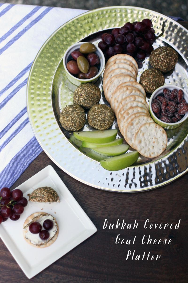 Recipe: Dukkah & Goat Cheese Platter — TASTE. SAVOR. SHARE.