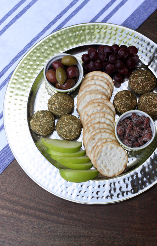 Dukkah Recipe Roundup | Goat Cheese Dukkah Platter | SavoryPantryBlog.com