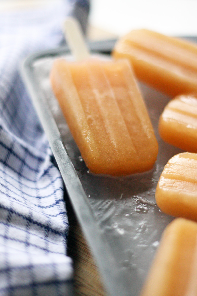 Recipe: Grapefruit Shrub and Rosé Popsicles | SavoryPantryBlog.com