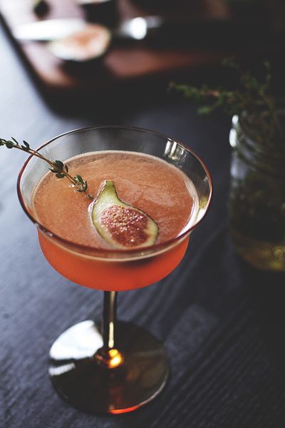In Season: Fresh Fig Recipes & Fig Products | Fig Cocktail| SavoryPantryBlog.com #figs