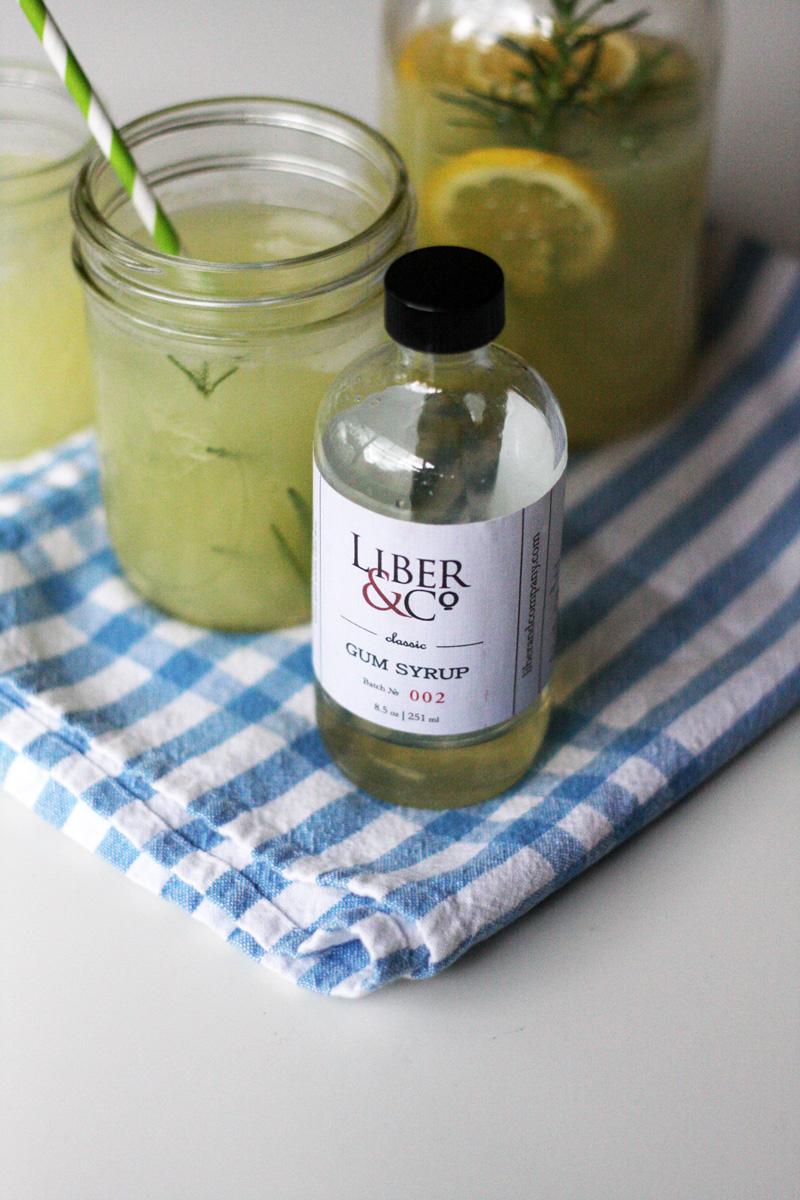 Freshly Squeezed Rosemary Lemonade | SavoryPantryBlog.com
