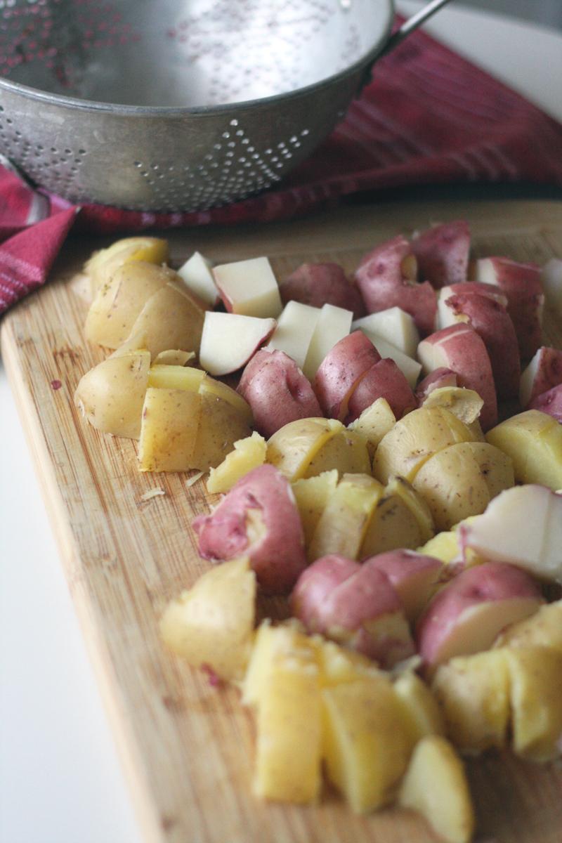 Recipe: Rosemary Dijon Potato Salad | SavoryPantryBlog.com